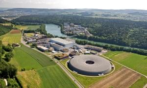 Paul Scherrer Institute in Villigen, Switzerland, from the air, June 2009.