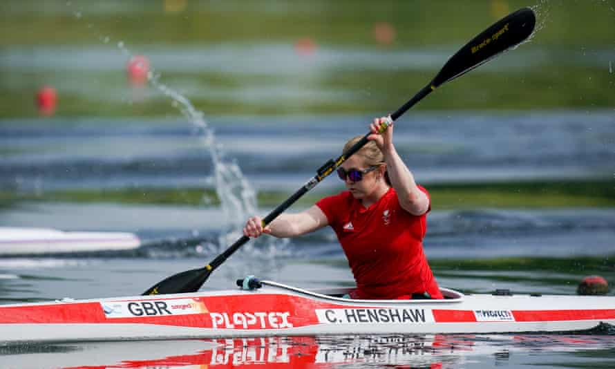 Charlotte Henshaw medals at swimming in London and Rio before moving into a boat after her potential was recognised by British Canoeing.