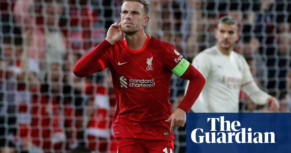 Jordan Henderson fires Liverpool to comeback win after Milan scare