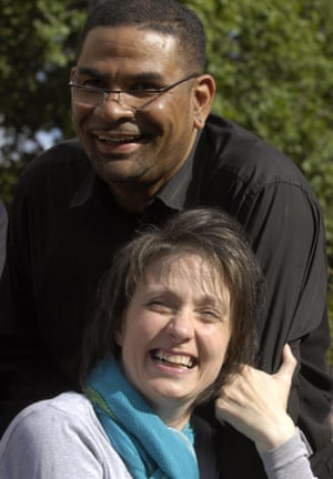 Debbie Purdy and Omar Puente.