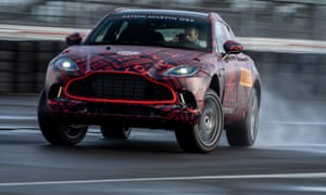 Much will rest on the launch of Aston Martin's first SUV, the DBX
