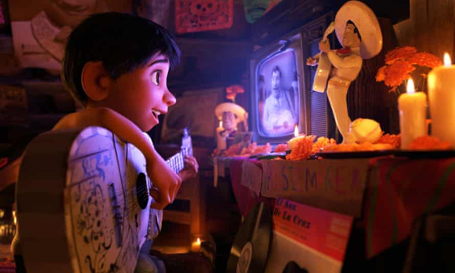 'While recognizable tropes are present, there's something warm and comforting about their familiarity and it helps that they play out within such fantastical, fresh-feeling surroundings' ... Coco.