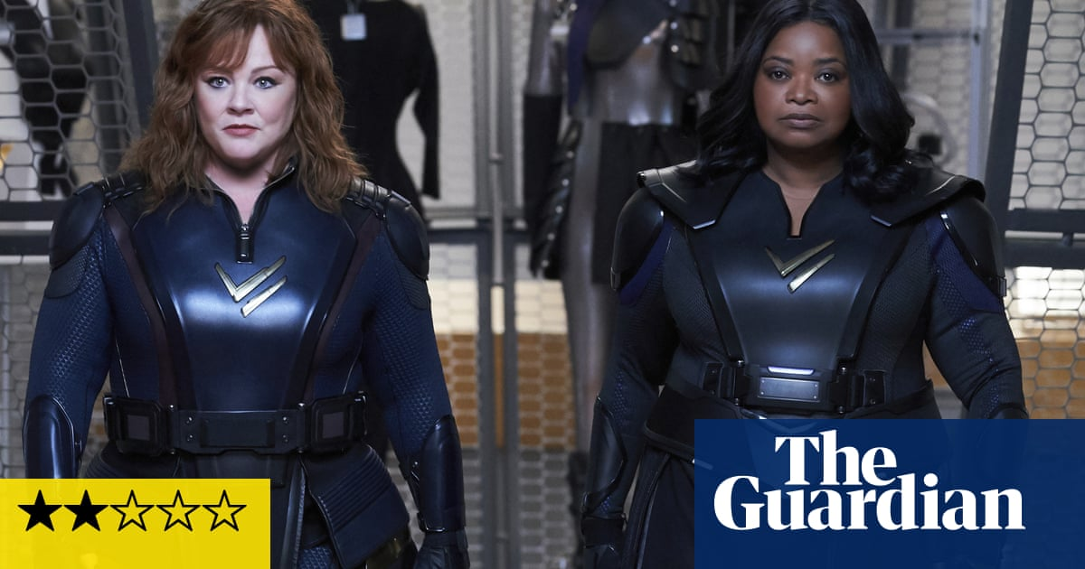 Thunder Force review – Melissa McCarthy gets superstrength in rote superhero comedy