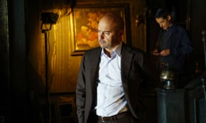 Luca Zingaretti as Inspector Montalbano in the TV series of Camilleri's novels.