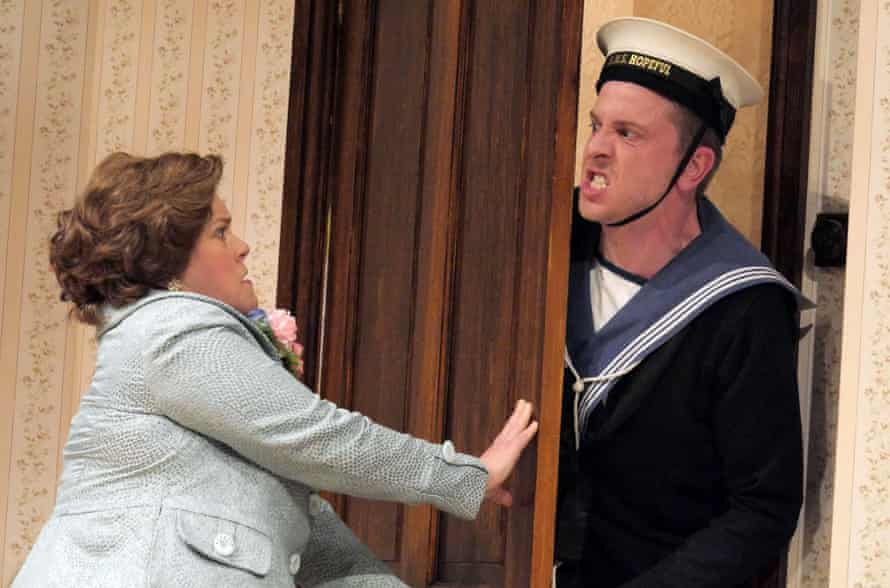 'In full swell': Heather Phoenix_clashes with Thomas Richardson in Watch It, Sailor.