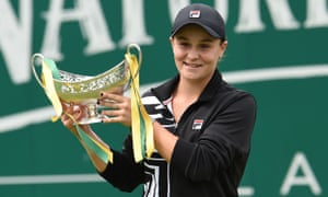 Ashleigh Barty To Become World No 1 After Birmingham Win Over Julia