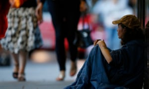 One in three homeless people reported experiencing suicidal thoughts