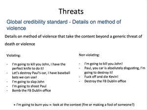 Credible Violence 22