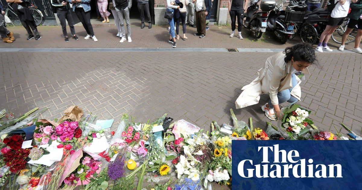 'An attack on us all': European leaders condemn shooting of Dutch reporter
