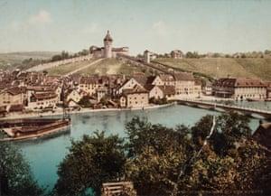 Schaffhausen and the Munot, Switzerland. 1893