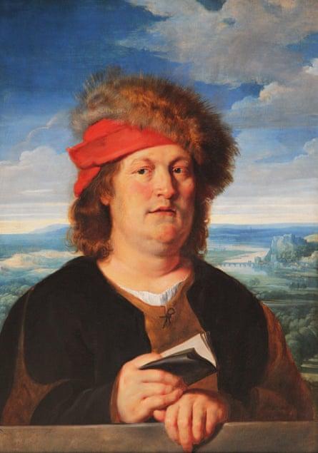 Portrait of Paracelsus painted by Peter Paul Rubens.