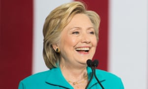 Hillary Clinton attended the meeting without aides present, her campaign says.