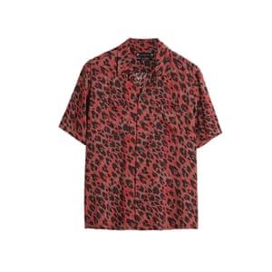 Leopard shirt, £85, allsaints.com