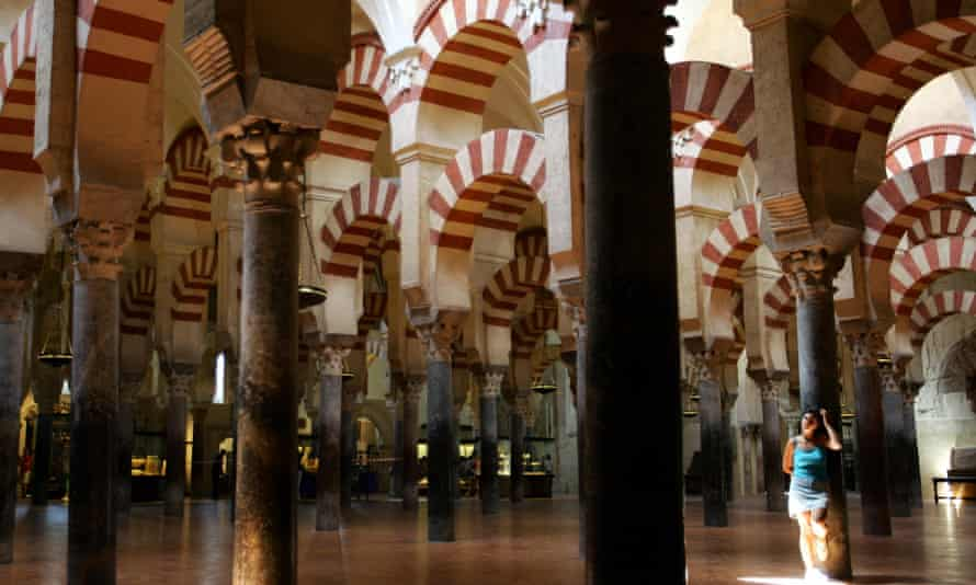 The Mosque-Cathedral of Córdoba in southern Spain