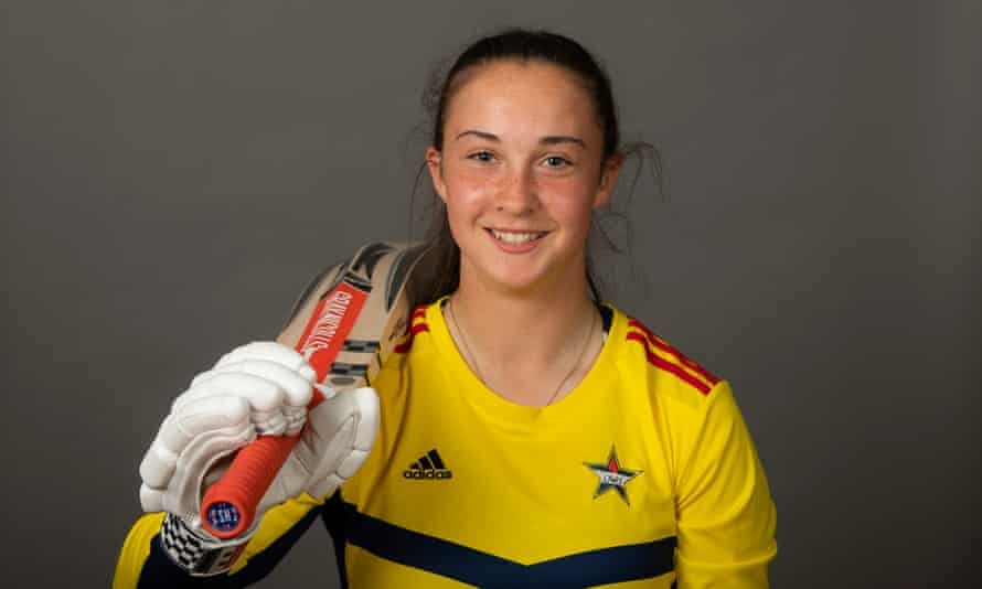 Alice Capsey started playing cricket aged six and has been playing at county level for Surrey since she was nine.