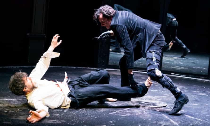 John Sackville as Henry and Tom Mothersdale as Richard.