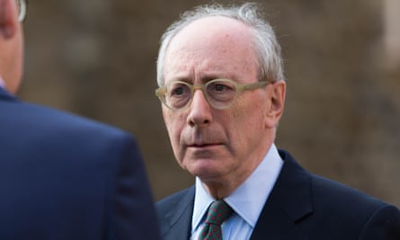 Sir Malcolm Rifkind is interviewed on College Green.