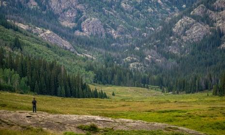 Eagles Nest Wilderness. Piney Lake Trail