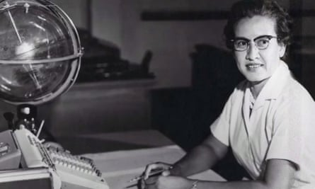 Nasa mathematician Katherine Johnson.