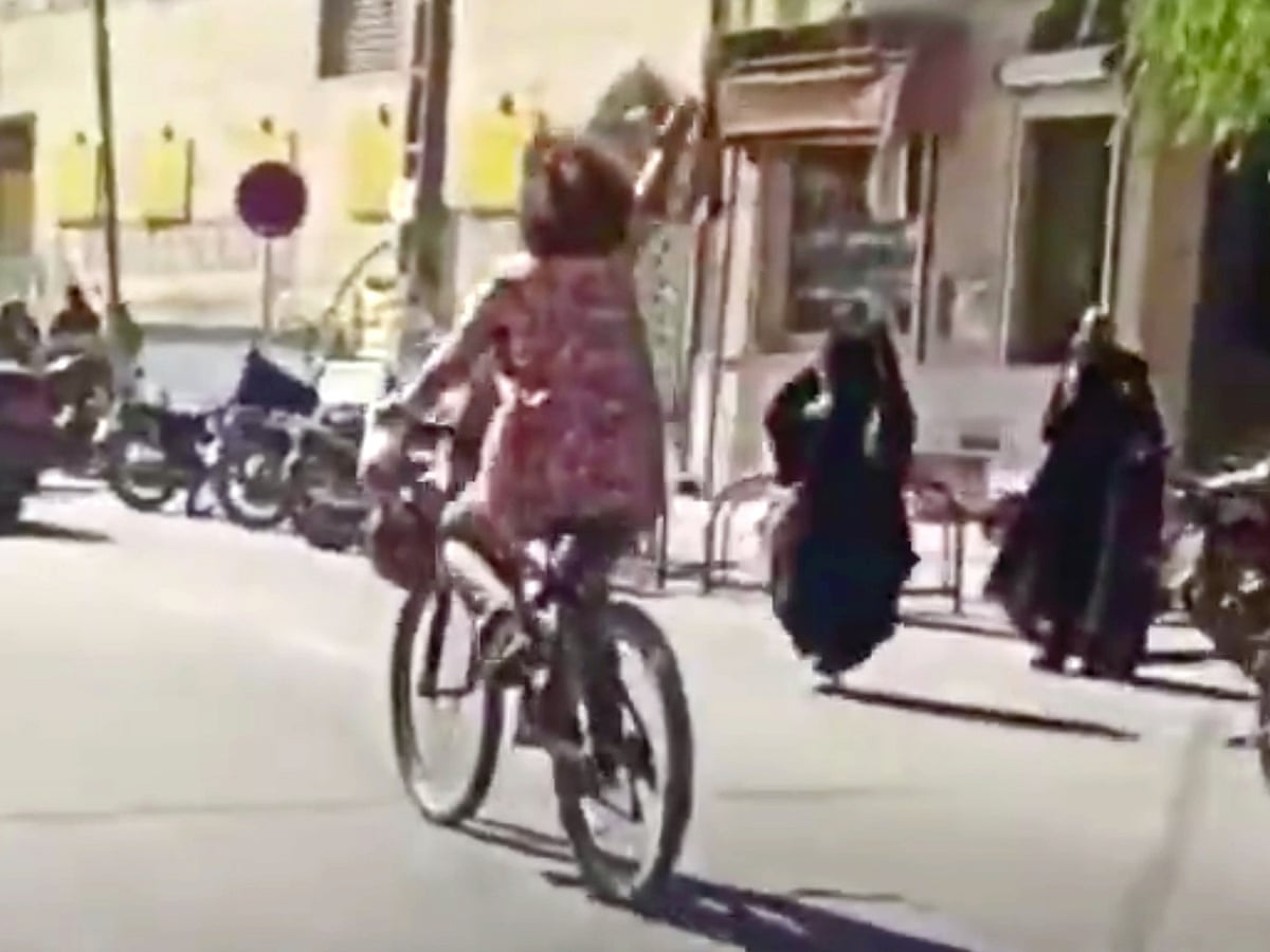 Iranian woman arrested for 'cycling without hijab' | Iran | The Guardian