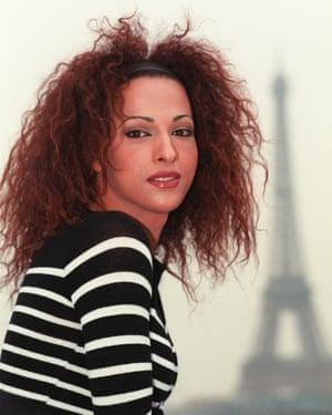 Dana International in Paris in 1998