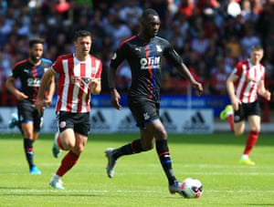Christian Benteke featured in Crystal Palace's 1-0 defeat against Sheffield United last weekend.