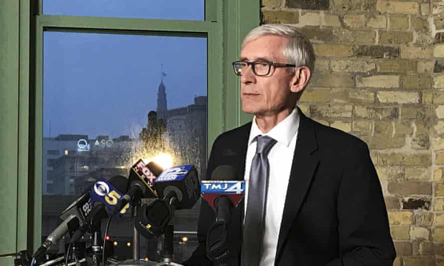 Tony Evers won the recent governor's race in Wisconsin but Republican legislators are attempting to curb his powers before he takes office.