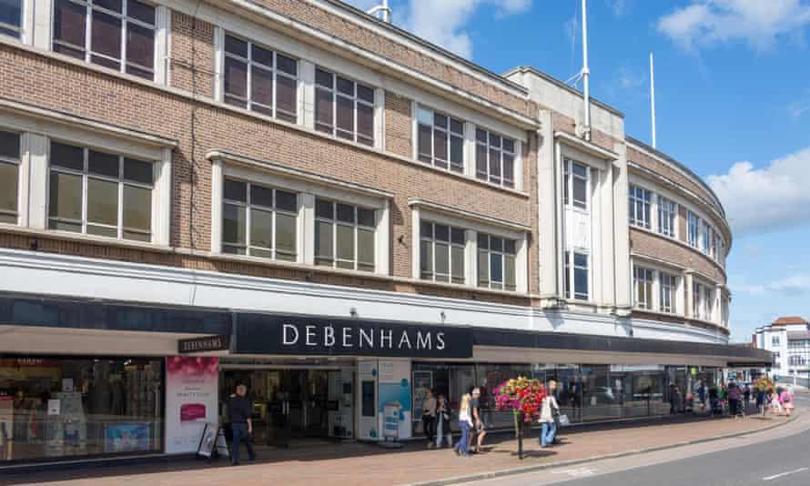 Debenhams در خیابان شمالی ، Taunton.