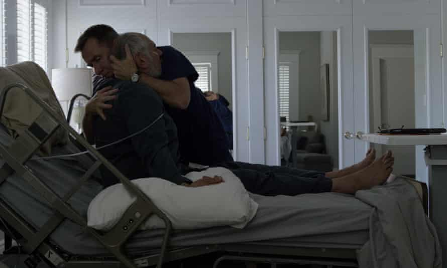 The indignity of death … Tim Roth plays homecare nurse David in Chronic.