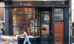 Libreria book shop in Spitalfields. London.