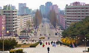 Hamhung, North Korea … Bandi's characters take in a wide range of locales and social classes. Photograph: Alamy