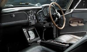The legendary 1965 Aston Martin DB5