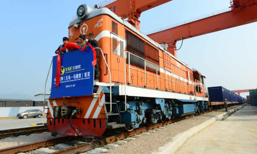 East Wind freight train