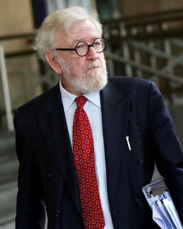 Robert Richter, Pell's lawyer, outside court on Thursday