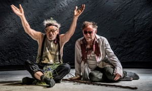 'The cause of plagues is sin, and the cause of sin is plays' … Ian McKellen as Lear and Danny Webb as Gloucester.