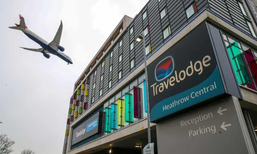 Heathrow, 26 January.