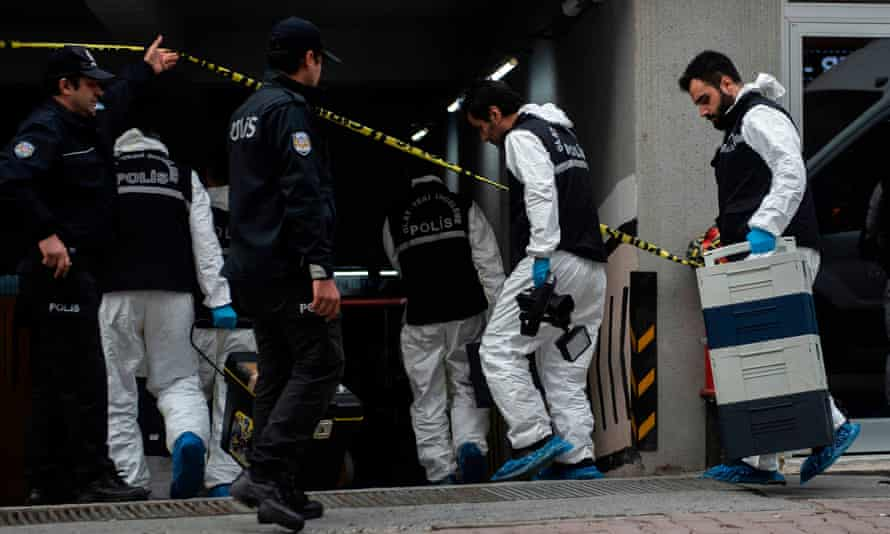 Turkish forensic police