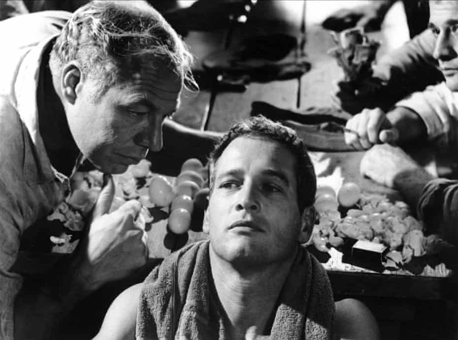 George Kennedy and Paul Newman in Cool Hand Luke