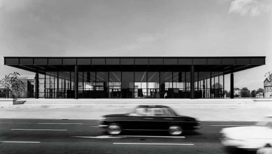 'Windows crack every year – and the doors are too small to bring in large artworks' … the New National Gallery after completion in 1968.