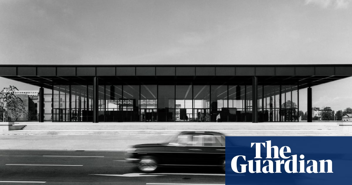 The curse of Mies van der Rohe: Berlin's six-year, £120m fight to fix his dysfunctional, puddle-strewn gallery