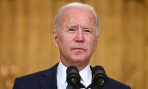 Joe Biden delivers an address on the deadly attacks in Kabul.