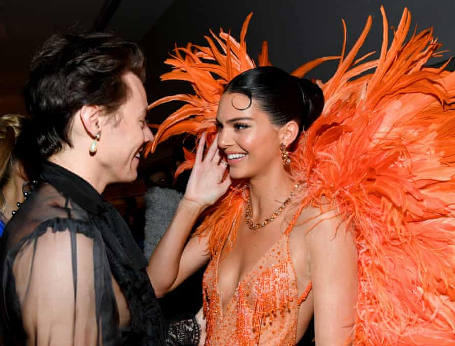 Harry Styles and Kendall Jenner at the Met Gala in May 2019