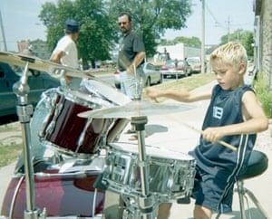 bieber drum set - 2002