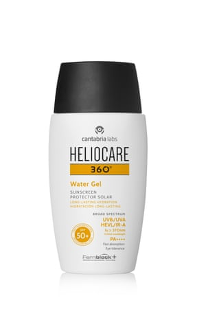 Heliocare 360 Water Gel SPF 50 £31, heliocare.co.uk