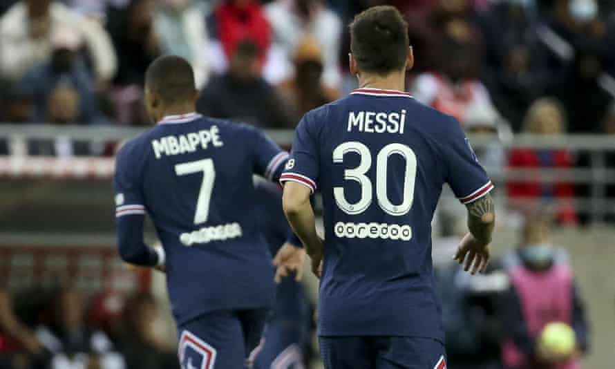 Lionel Messi was the focus for PSG but Kylian Mbappé refused to fade into the background.