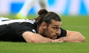 Andy Carroll has been 'dealt a cruel hand', says Newcastle's manager, Steve Bruce.