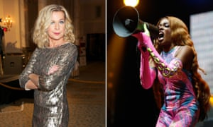 Money for old quotes … unconvincing controversialist Katie Hopkins and homophobic rapper, Azealia Banks