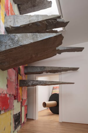 Bulk and heft... Phyllida Barlow's stone shards.