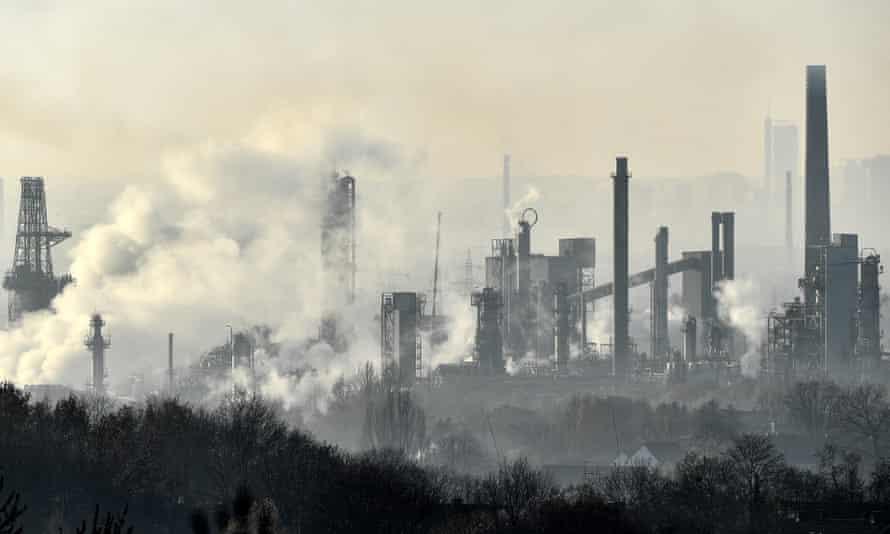 A BP oil refinery in Gelsenkirchen