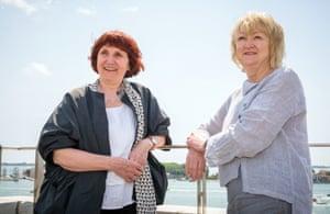 Shelley McNamara and Yvonne Farrell of Grafton Architects in Venice.